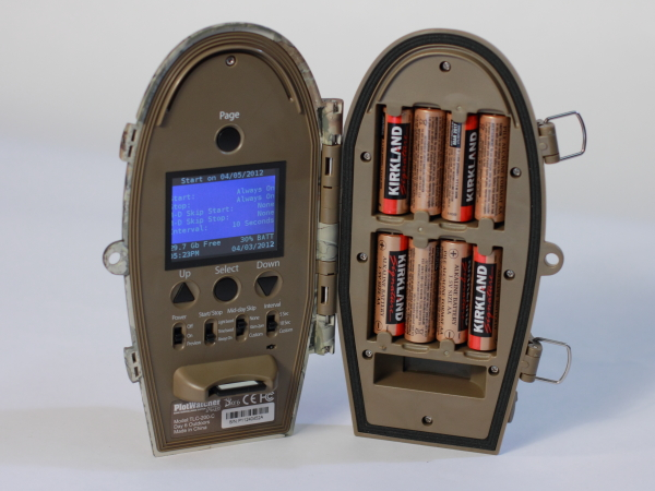 Day 6 Plotwatcher Pro controls and batteries
